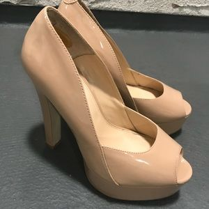 Nude Topshop Heels - Like New